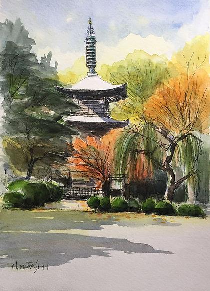 晩秋の豪徳寺.JPG