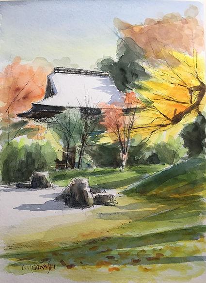 九品仏浄真寺の庭園.JPG