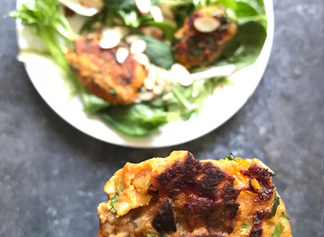 Skin-Saving Suppers: Salmon Fritters