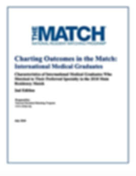 Charting Outcomes in the Match: Internat