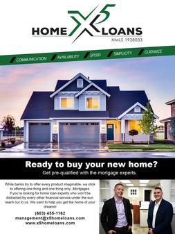 X5 Home Loans Flyer