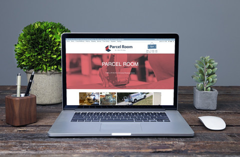 Parcel Room Website Build