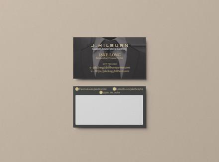 J. Hilburn Consultant Custom Business Cards