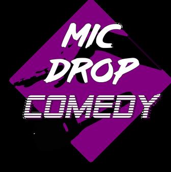 Mic Drop Comedy Logo