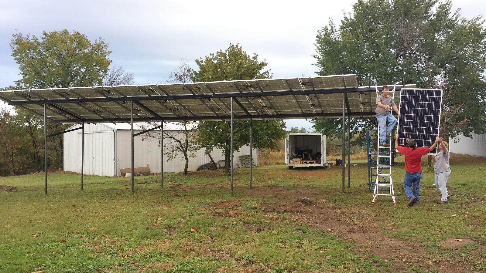 Installing 10kW grid-tied-Maud, OK