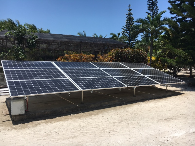 Off-grid system in Belize  2017