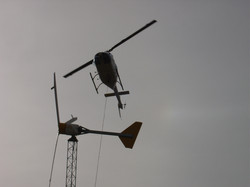 Helicopter Turbine Installation, Nevada