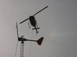 Helicopter Turbine Installation, Nevada