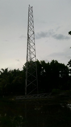 Belize tower installation