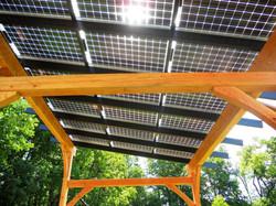 Pergiola with Solar Array