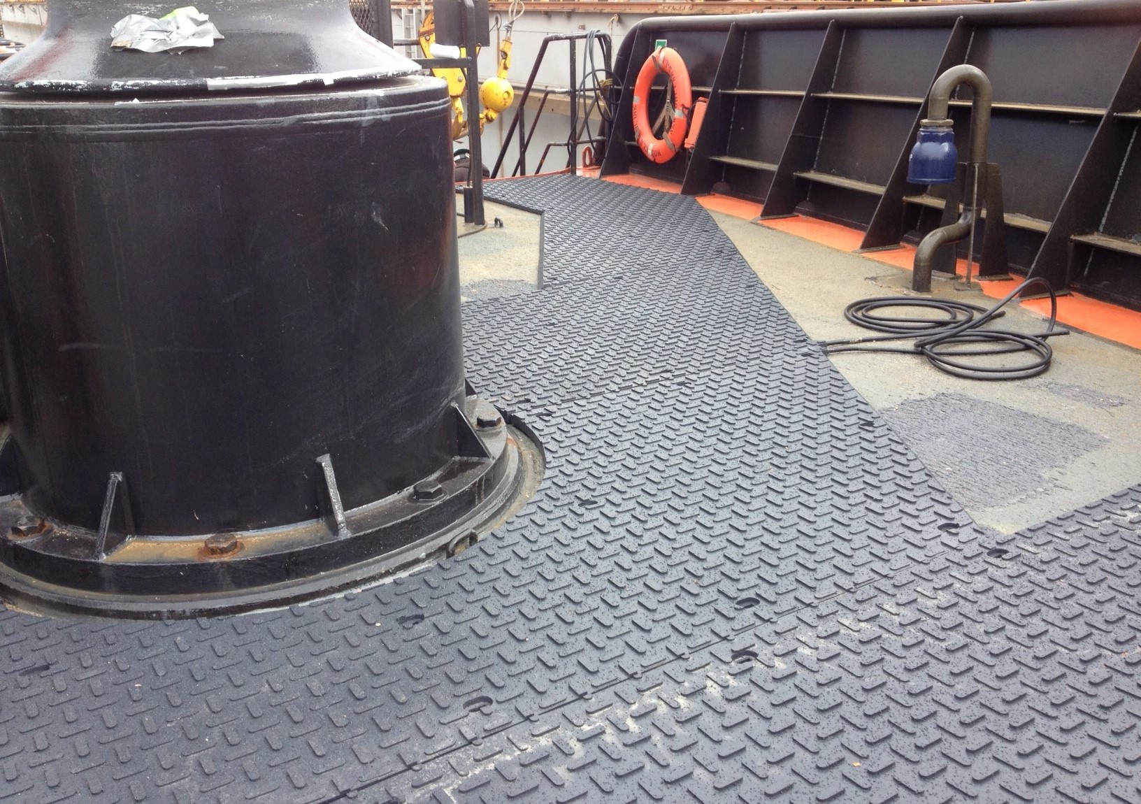 Centerline Focsle Heated Mats