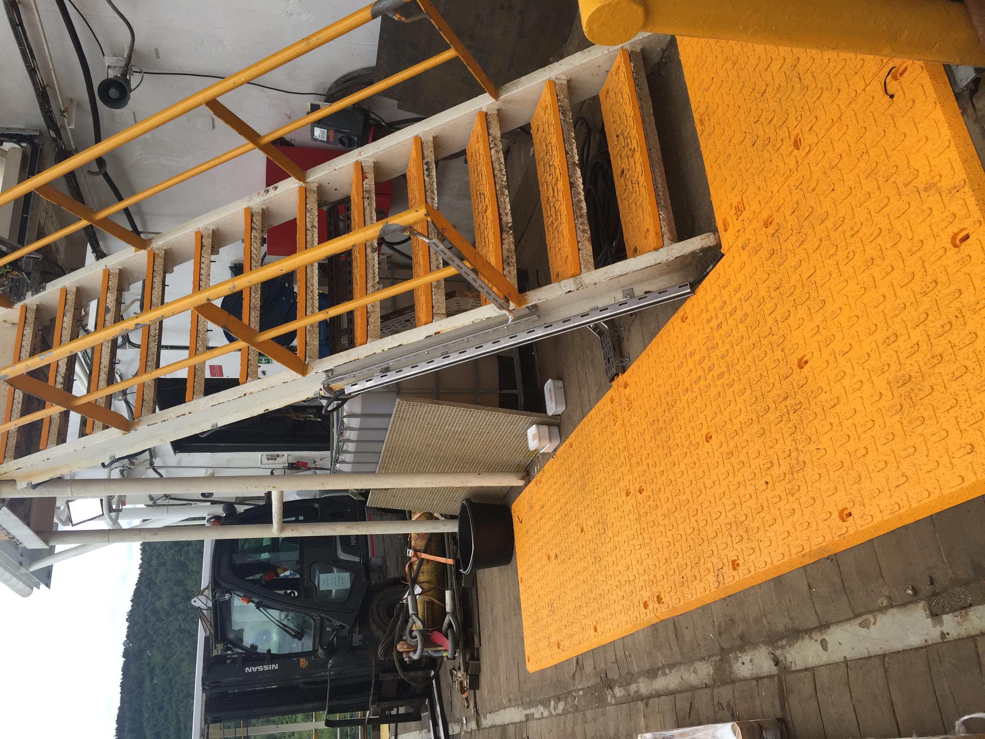 Leiv Eiriksson Stairway & Deck Arctic Pads