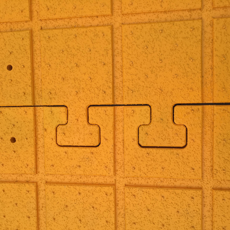 Puzzle Cut Mat Locking