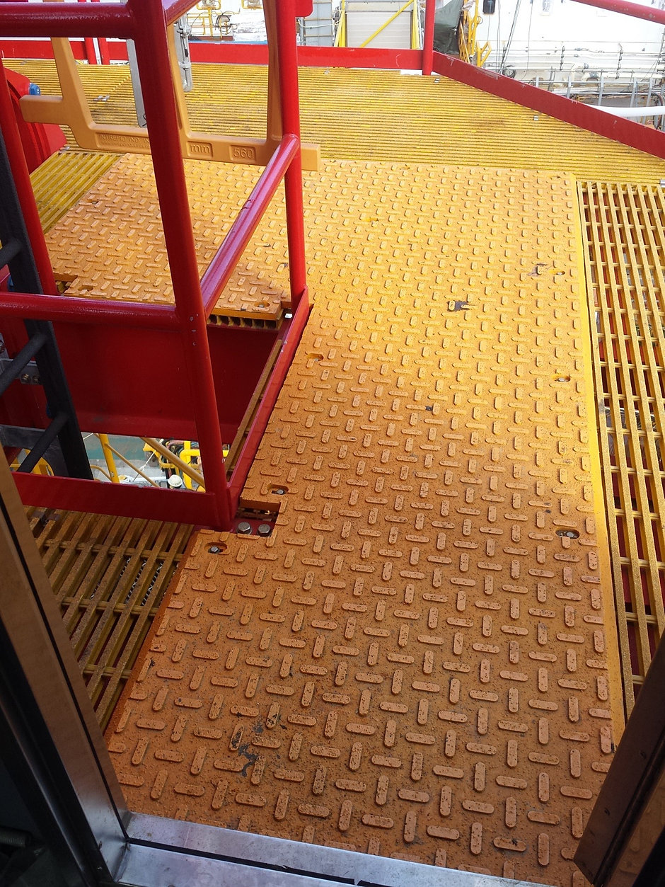 Rubber mats alberta - Tower Crane Arctic Pad