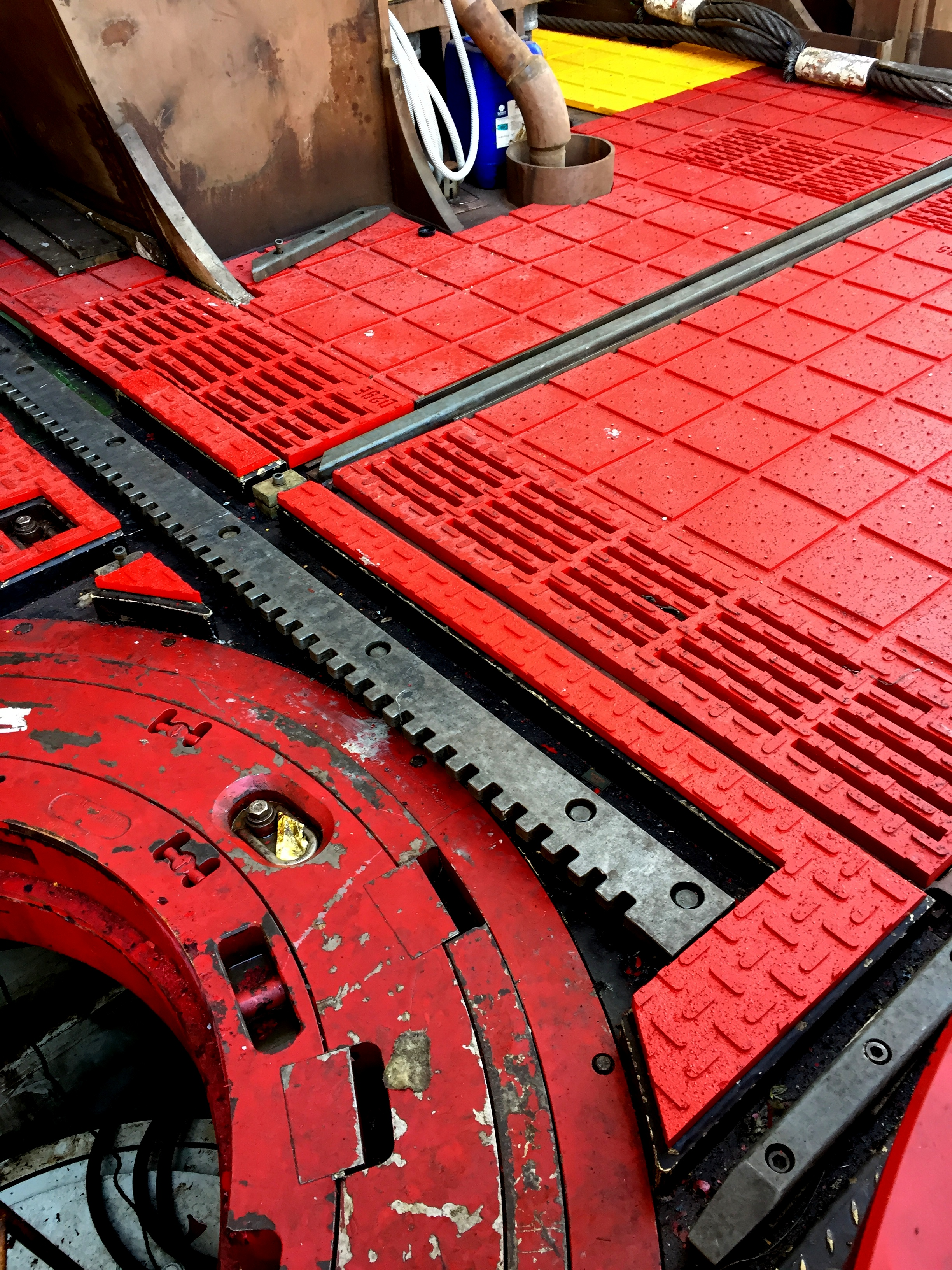 Rotary Table Drainage Mats