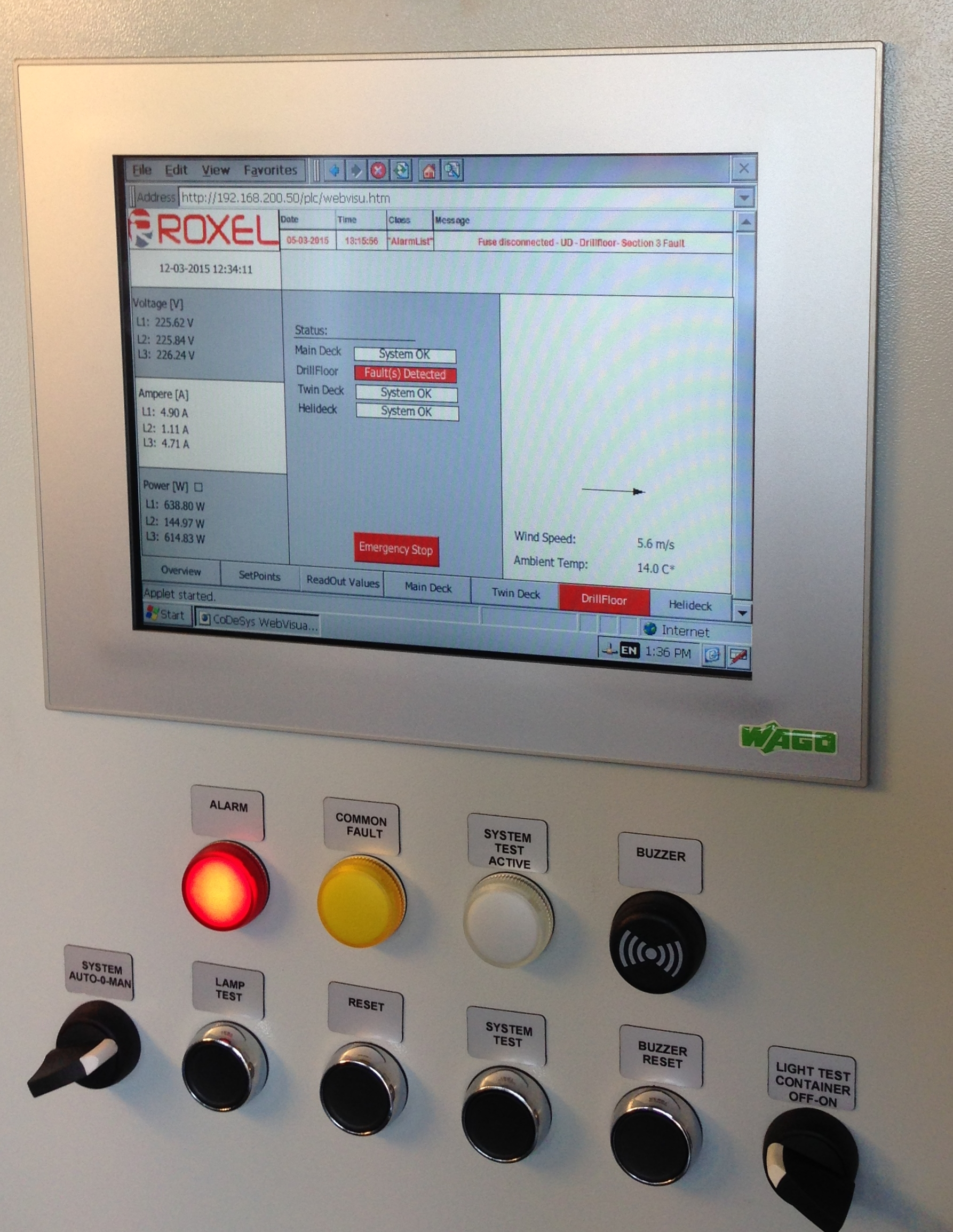 Roxel Control & Monitoring System