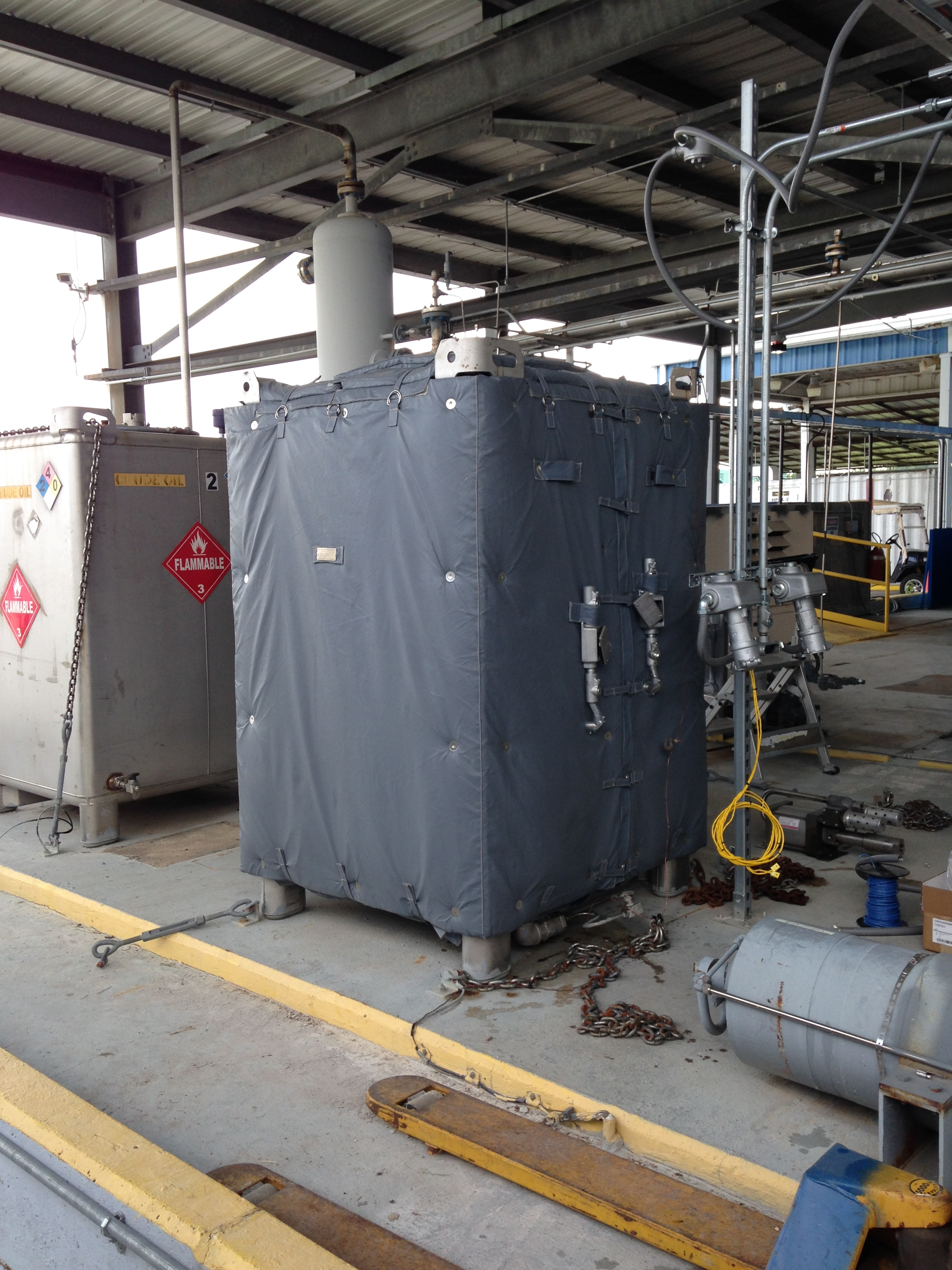 Heated Equipment Cover