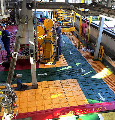 AMS Drill Floor Traction Pad Solutions -