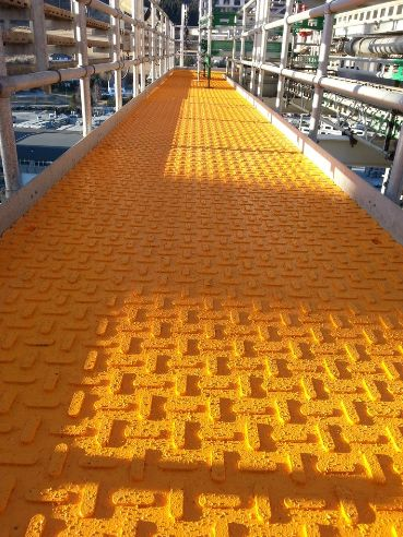 Under Heli-Deck Heated Traction Mats