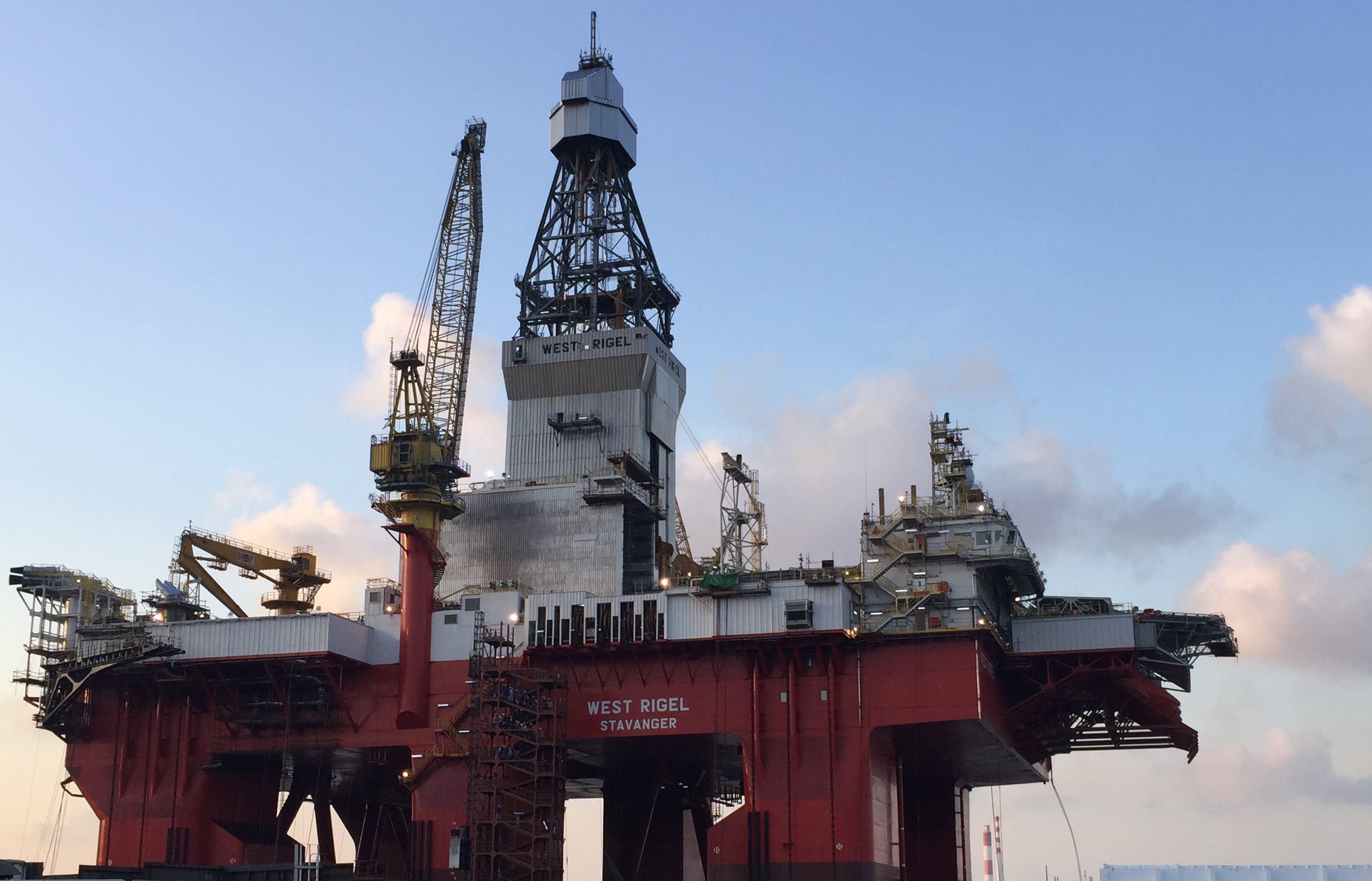 West Rigel Offshore Platform