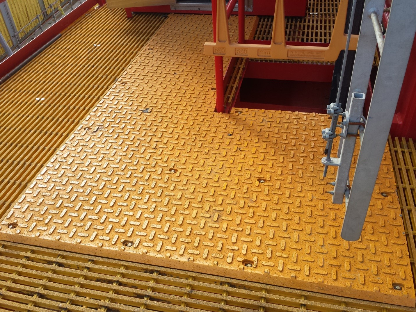 Tower Crane Heated Mat