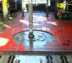 ROTARY TABLE MAT