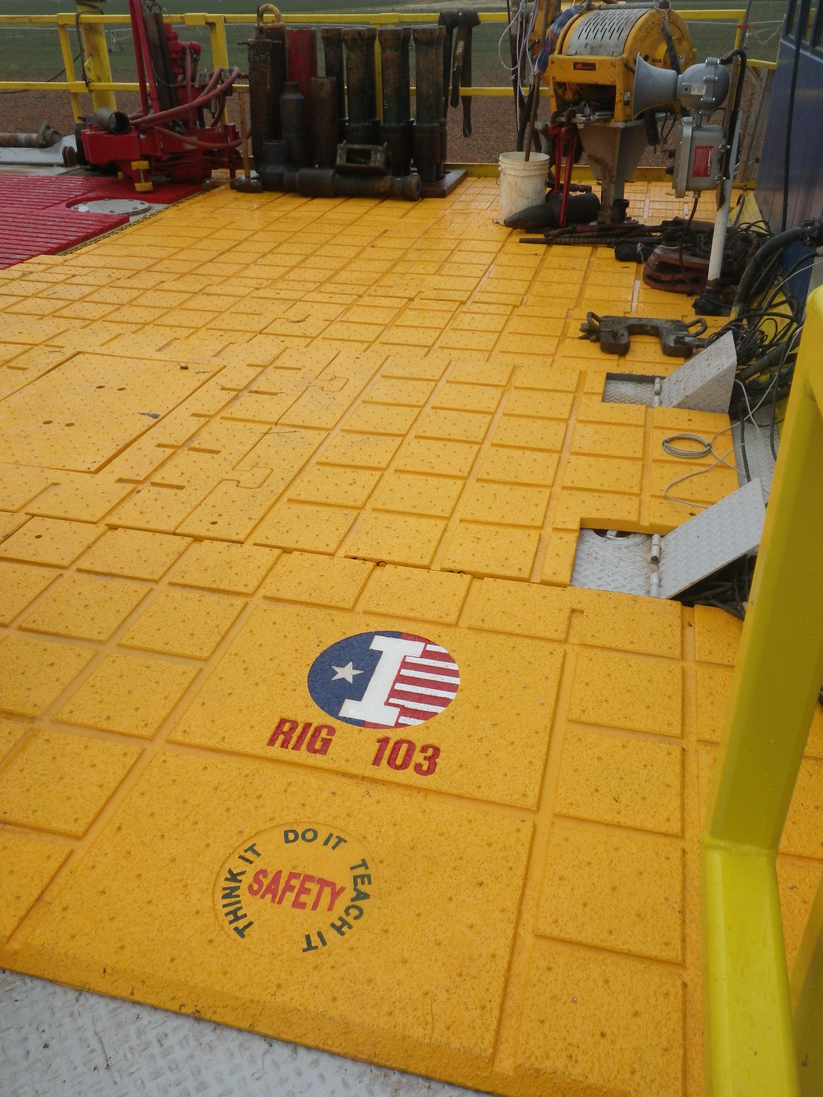 Hybrid Drill Floor Matting