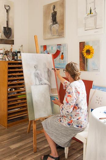 Kristina Elo's studio