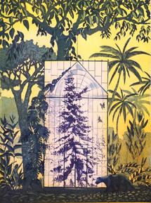 Talvipuutarha , Vinterträdgården,  etsau