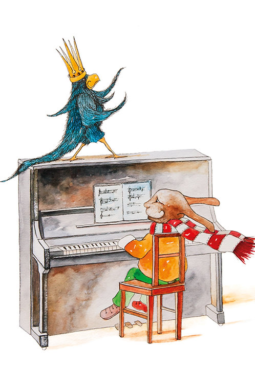 Postcard: Piano – Kristina Elo