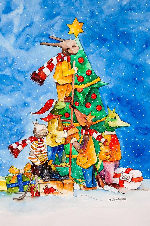 Postcard: Christmas – Kristina Elo