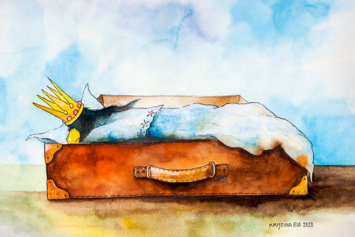 Postcard: Sleepy – Kristina Elo
