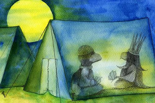 Postcard: Camping – Kristina Elo