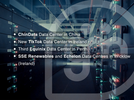 The Latest Data Centre News