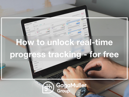 How to unlock real-time progress tracking - for free!