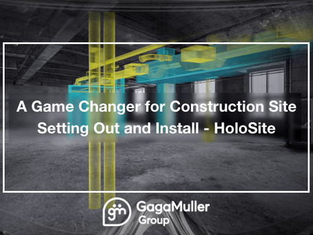 A Game Change for Construction Site Setting Out and Install - HoloSite