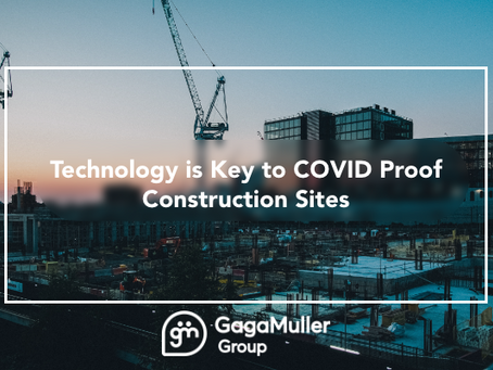Technology is key to COVID proof construction sites