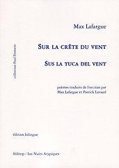 Max Lafargue Sus la tuca del vent Couver