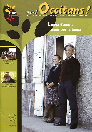 Lenga d'amor Occitans ! Junh de 2013 (1)