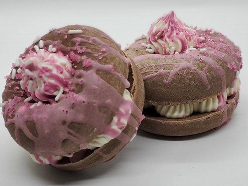 Strawberry Pound Cake Donut Soap