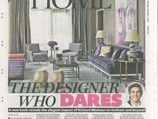"The New York Post November 2014: ""The Designer Who Dares"""