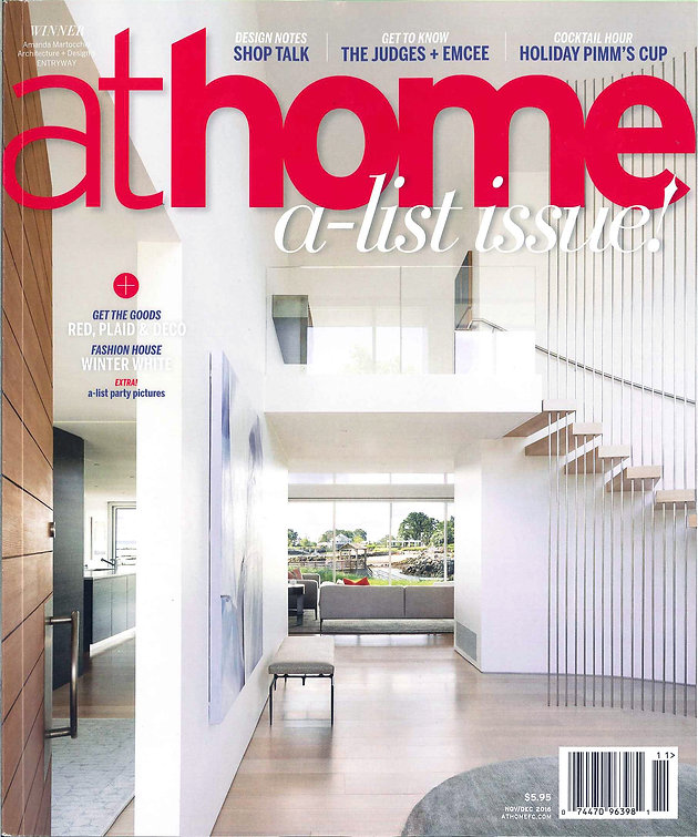 108249cc6 At Home Magazine Fall 2016: The A List Awards | RICHARD MISHAAN DESIGN