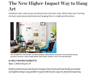 The New Higher-Impact Way to Hang Art