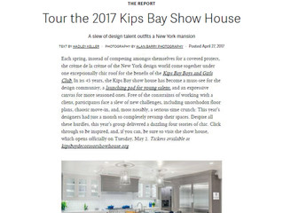 "Architectural Digest, ""Tour the 2017 Kips Bay Show House"""