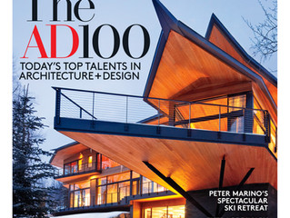 Architectural Digest January 2016: The AD 100 List