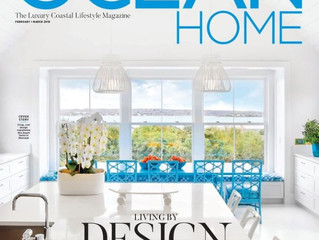 Ocean Home Magazine, February 2018: Top 50 Coastal Designers