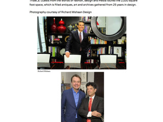 "Modern Luxury, January 30th 2018: ""Richard Mishaan's 25th Anniversary Celebration"""