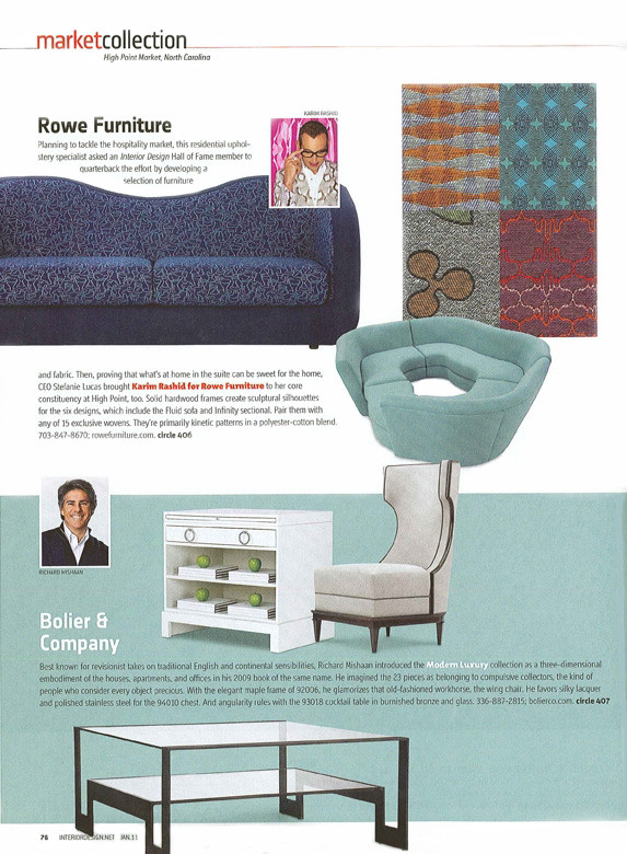 Richard Mishaan Furniture for Bolier