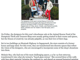 """East Hampton Star, May 22nd 2018: """"From Toile Hall to Paris Flea Market"""""""