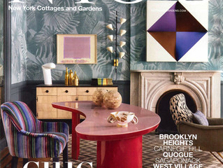 "New York Cottages & Gardens November 2017: ""Designer Timeline: Richard Mishaan, A Brief His"